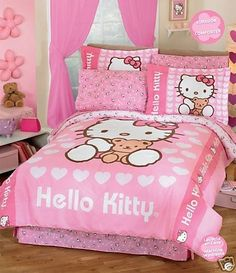 Goede Hello Kitty Bedding and Tips for Decorating a Hello Kitty Bedroom HS-93